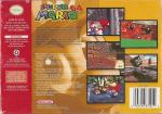 Super Mario 64 Box Art Back